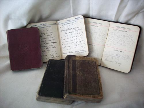 Arthur Linfoot Diaries
