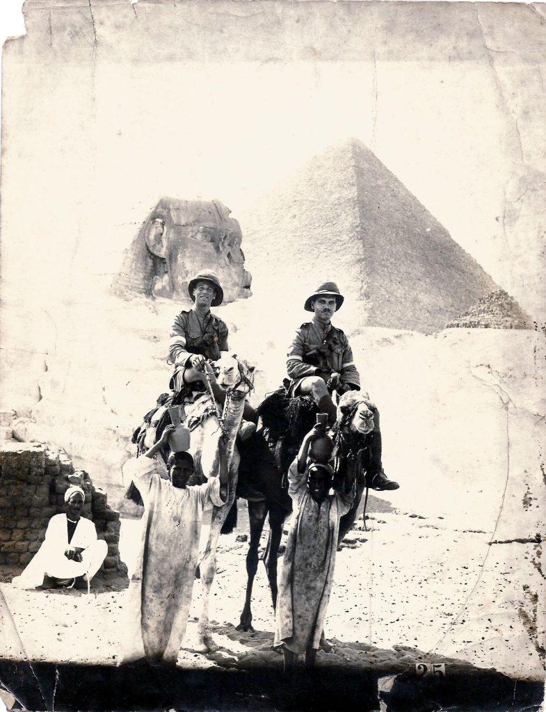 Charlie on Camel