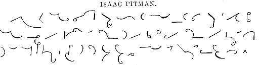 Pitman's Shorthand Sample